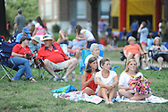 4th of July activities in the Grove in Oxford, Miss. on Thursday, July 4, 2013.