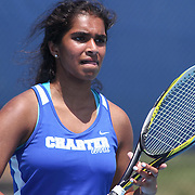 Charter School Of Wilmington Neha Divi in actions during a DIAA Tennis State final match Tuesday, May. 26, 2015 at UD Field House in Newark, DEL