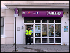 FEB 13 2014 Bomb Scares at Army Careers Offices