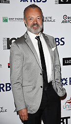 Graham Norton attends The British LGBT Awards at The Landmark Hotel, London on Friday 24 April 2015