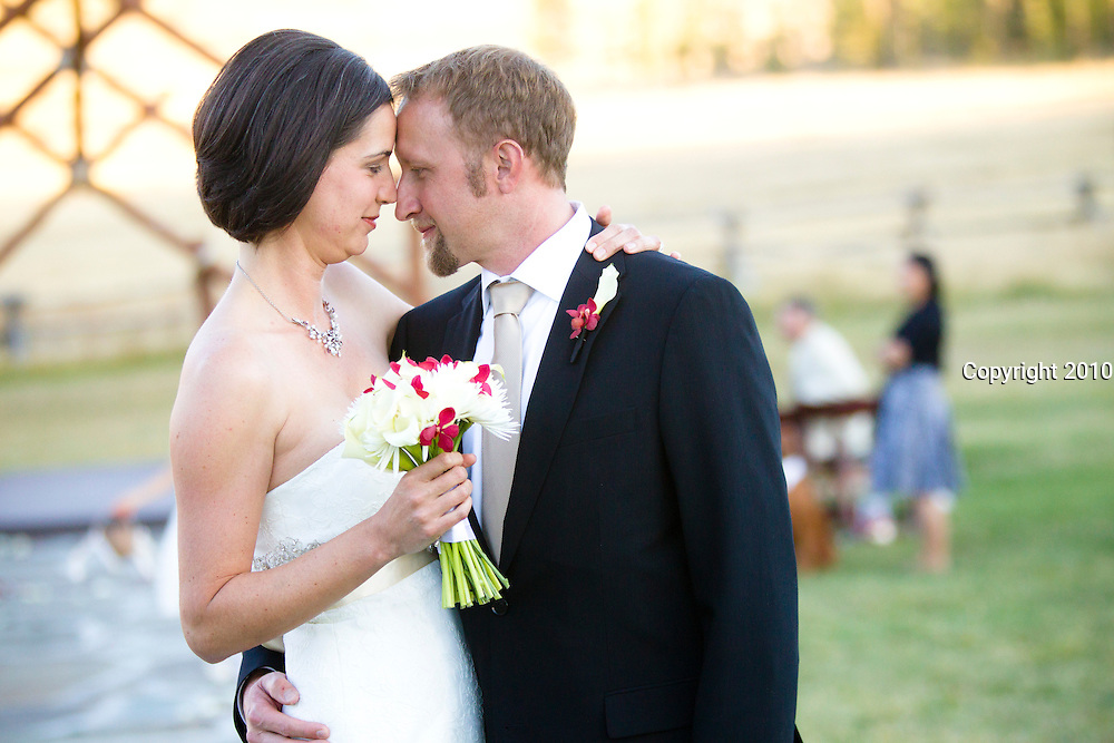 SHOT 9/30/10 7:04:48 PM - Marc Piscotty and Margaret Ebeling wedding week at Devil's Thumb Ranch in Tabernash, Co..(Photo by Trevor Brown / © 2010)