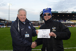 50/50 draw - Mandatory byline: Dougie Allward/JMP - 23/01/2016 - FOOTBALL - Memorial Stadium - Bristol, England - Bristol Rovers v Plymouth Argyle - Sky Bet League Two