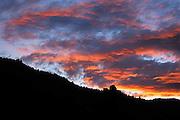 Sunset, San Juan Mountains