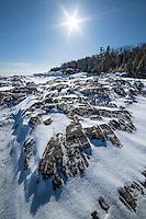 Black Rocks of Presque Isle<br /> Marquette, Michigan