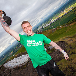 Alan Clark walked up Dumyat for Macmillan Cancer Support.