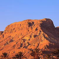 Hills around the Ein Gedi oasis, nature preserve and kibbutz.