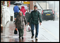 AUG 10 2014 Storm Bertha hits UK