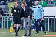 DEN HAAG - ADO Den Haag - Feyenoord , Voetbal , Eredivisie , Seizoen 2016/2017 , Kyocera Stadion , 19-02-2017 , ADO Den Haag trainer Fons Groenendijk