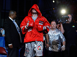 September 29, 2007; Atlantic City, NJ, USA; Kelly Pavlik during his bout against undisputed middleweight champion Jermain Taylor at Boardwalk Hall in Atlantic City, New Jersey.