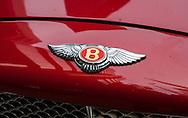 Bentley Motors Badge on Bonnet