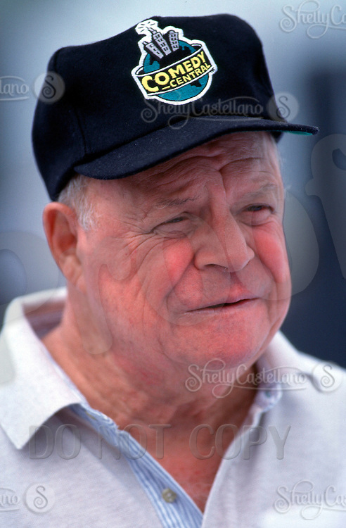 Aug 22, 1996:  Actor, Comedian, Entertainer DON RICKELS at the beach during a taping of the Hollywood Hockey Cup at the '96 NHL Breakout in the parking lot south of the Santa Monica Pier in California.