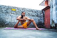 Yogi Amitram at Rishikesh Yoga Ashram, Rishikesh - India