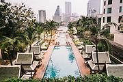 Pool at the Peninsula Bangkok