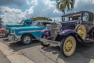 Car rally at La Cecilia, Playa.
