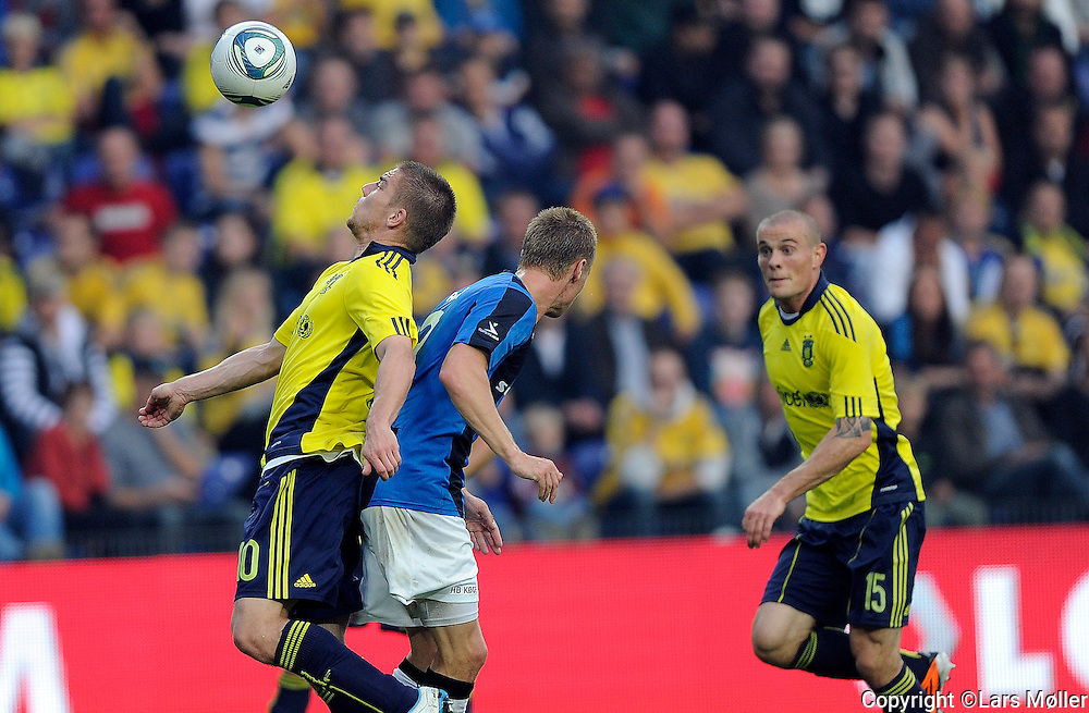DK Caption:<br /> 20110911, Br&oslash;ndby, Danmark:<br /> Superliga fodbold, Br&oslash;ndby - HB K&oslash;ge:<br /> Martin Bernburg, BIF Br&oslash;ndby.<br /> Foto: Lars M&oslash;ller<br /> <br /> UK Caption:<br /> 20110911, Brondby, Denmark:<br /> Superleague football  Brondby - HB K&oslash;ge:<br /> Martin Bernburg, BIF Br&oslash;ndby.<br /> Photo: Lars Moeller