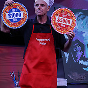 "Cardinal Health RBC 2016. Closing Session Deep Dish Dollars contest with ""Pepperoni Pete"", Pete Burns of FLIRT Communications. Photo by Alabastro Photography."