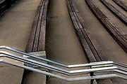 SD00025-00...SOUTH DAKOTA - Steps and railings at Mount Rushmore National Memorial.