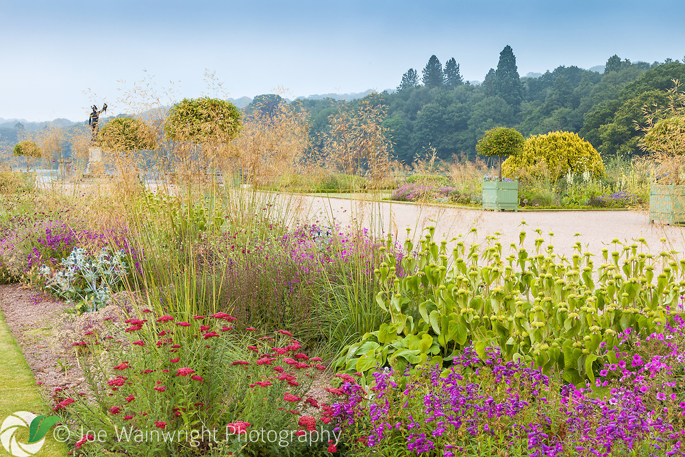 Summer in the Italian Garden at Trentham Gardens, Staffordshire