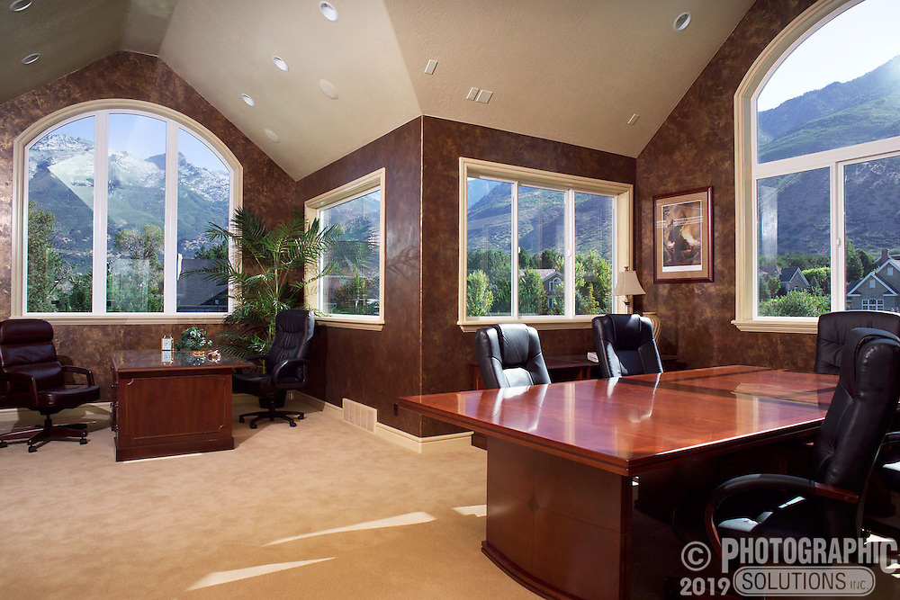 Home office with a View | Photographic Solutions