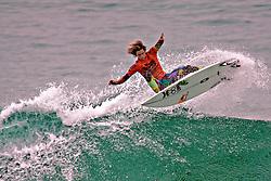 HUNTINGTON BEACH, California/USA (Sunday, August 8, 2010) - Evan Geiselman Mens Pro Junior Champion at US Open of Surfing 2010 Mens Junior Pro Finals.
