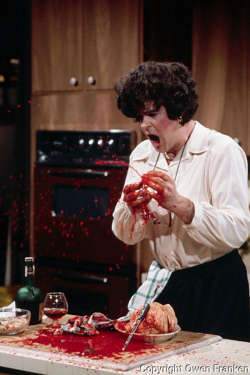 Dan aykroyd plays julia child owen franken - Julia child cooking show ...