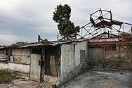 Sugar mill in Guaos, Cienfuegos Province, Cuba.