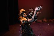 NAIDOC Day performance - Gulliah Gundala by Gulliah performers in Kalgoorlie Goldfields Arts Center.