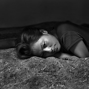 Marisol Espinoza, a 20-year-old woman from Chiapas, Mexico in a shelter for deportees and migrants the night after she was deported from the United States. She crossed the into the United States and walked through the Arizona desert for 6-days until she was arrested by the U.S. Border Patrol..(Credit Image: © Louie Palu/ZUMA Press)