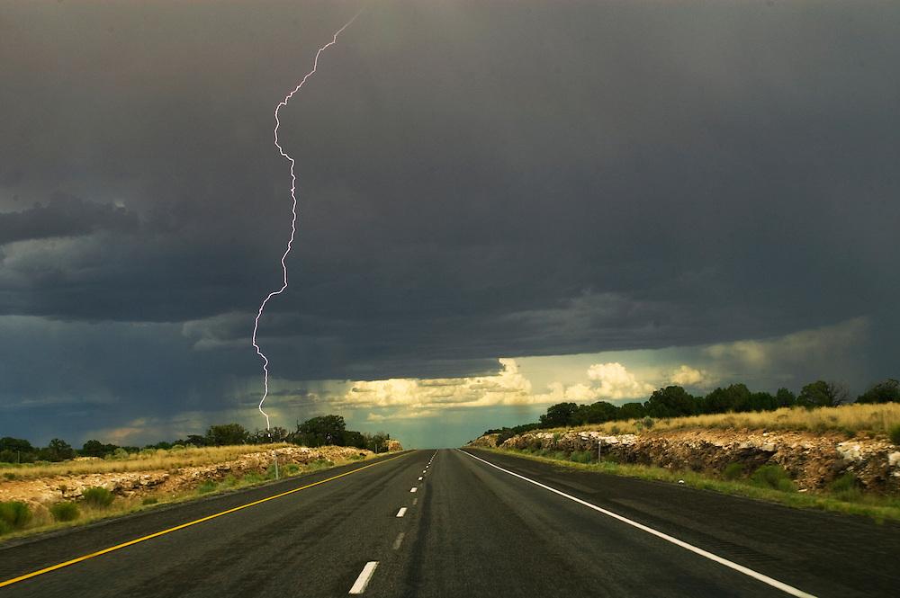 Lightning Storm Over Utah