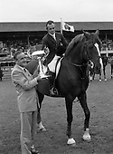 1987 - RDS Horse Show. The Irish Trophy - Grand Prix of Ireland