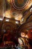 Sri Lanka - Isipathanaramaya Buddhist Temple. Colombo.