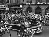 John F. Kennedy cavalcade through Dublin city - 26/06/1963