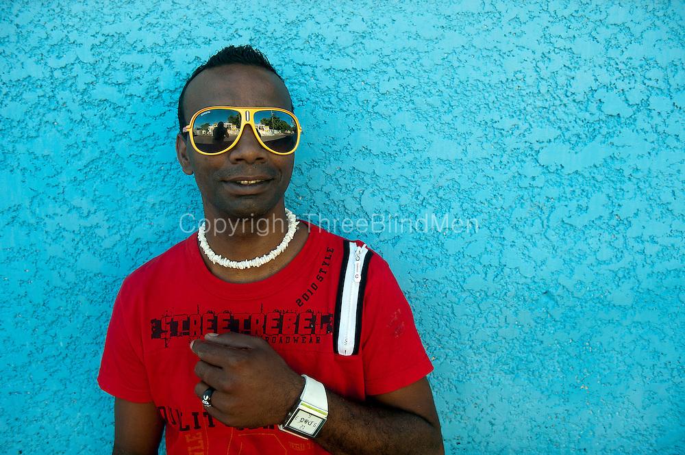 Mario Jean Jacques the Cobbler. Port Louis