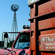 Caption 11<br /> Randall McCloud's farm features an old-fashioned windmill that has brought more than one offer from collectors.  He's not interested in parting with it.