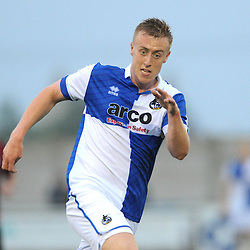 Jamie Lucas of Bristol Rovers - Photo mandatory by-line: Dougie Allward/JMP - Mobile: 07966 386802 - 14/07/2015 - SPORT - Football - Gloucestershire - Corinium Stadium - Pre-Season Friendly