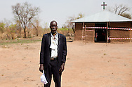 The South Sudan Referendum Board Chairman in the town of Kuli Papa on Jab. 9, 2011.