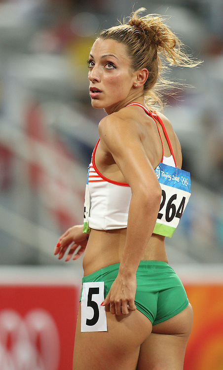 Beijing 2008 Olympic Games-Day 2 - Evening-August 16, 2008. Photo : Claus Andersen *** Ivet Lalova, 100m  *** Bejing 2008