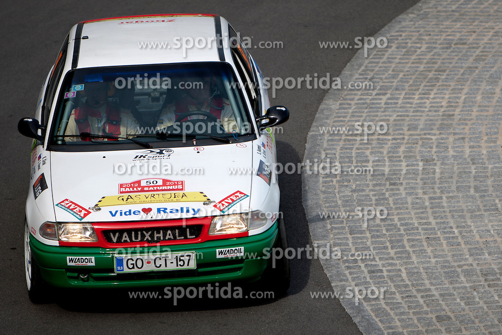 Slavko Komel before 35th Rally Saturnus, on May 11, 2012, in SRC Stozice, Ljubljana, Slovenia. (Photo by Urban Urbanc / Sportida)