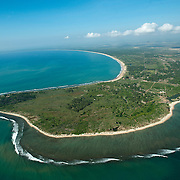 NOT TO BE SOLD TILL 2016 January for any use in Sri lanka Bought by Commercial Bank for 2015 Calendar<br /> Aerial view over the East Coast bays of Passikudah and Kalkudah.