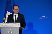 High-level meeting for stabilization of Mosul, Irak in Paris, France