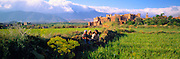 MOROCCO, HIGH ATLAS MOUNTAINS the Kasbah of Telouet, a fortified citadel in the High Atlas Mountains, south of  Marrakech