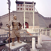 AA01210-02...CHINA - Entrance gate to walled city of Xi'an.