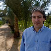 Helmy Abouleish, Managing Director of the leading Egyptian Organic foods and products producer, Sekem Group, poses for a portrait on the lush grounds of the Sekem farm Nov 4, 2008 in Belbeis, Egypt. Helmy's father, Dr. Ibrahim Abouleish founded the project in 1977 on what was then barren desert, and since has grown it into a lush oasis ecompassing several farms, production plants, schools and even a local medical facility.