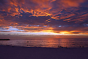 41 Degrees red CB 112, Cottesloe beach sunset after a 41 degree day