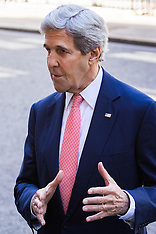 2016-07-19 US Secretary of State John Kerry Pays courtesy visit the PM Theresa May