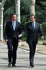 APR 8 2013 David Cameron visits Prime Minister Mariano Rajoy
