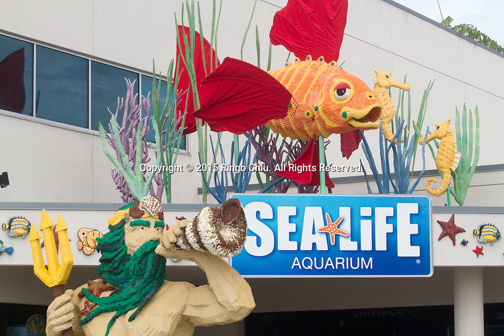 The Sea Life Aquarium at Legoland in Carlsbad, California.(Photo by Ringo Chiu/PHOTOFORMULA.com)