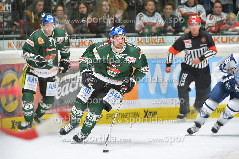 02.10.2015, Curt Frenzel Stadium, Augsburg, GER, DEL, Augsburger Panther vs Hamburg Freezers, 7. Runde, im Bild <br />
