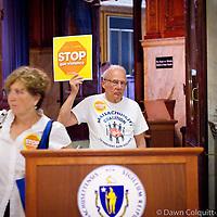 Gun Control Debate in Boston
