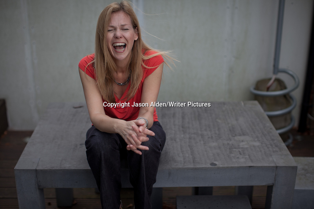 Adele Parks, British author pictured at her home in Guildford, United Kingdom. 30th May 2012<br /> <br /> Picture by Jason Alden/Writer Pictures<br /> <br /> WORLD RIGHTS